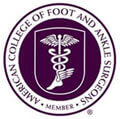 Logo Recognizing Center Grove Foot & Ankle Care's affiliation with the American College of Foot and Ankle Surgeons
